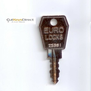 Eurolocks 25001 - 27000 Replacement Keys