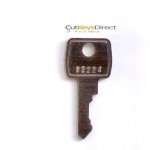 L&F 001 - 400 Replacement Keys