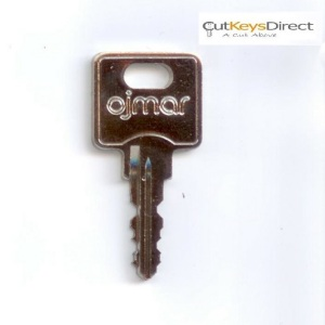Ojmar S001 - S698 Replacement Keys