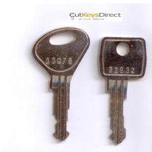 Garran G1001 - G9999 Replacement Keys