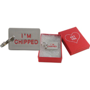 I'M Chipped Pet Tag