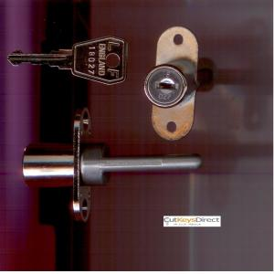 L&F 18 Series Desk Lock  45mm (L3)