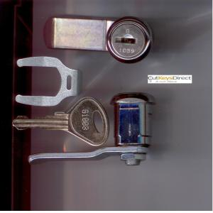 Old Shape Garran G Series Locker Lock (L7)