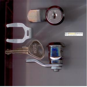 L&F 31/32 Series NewShape Locker Lock (L9)