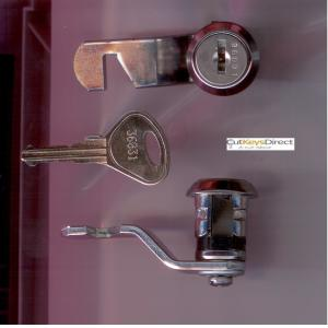 L&F 36/37 Series Locker Lock (L11)