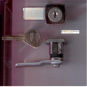 L&F 95 Series  Locker Lock (L13)
