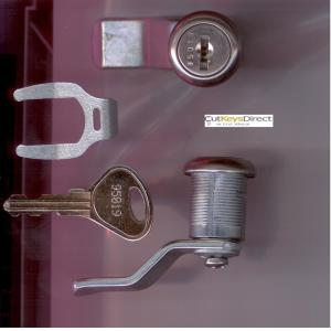 L&F 95/96 Series  Locker Lock (L14)