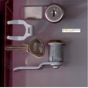 L&F 95/96 Series Locker Lock (L15)