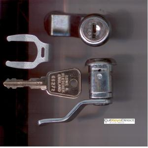 L&F 66/67 Series Locker Lock (L18)