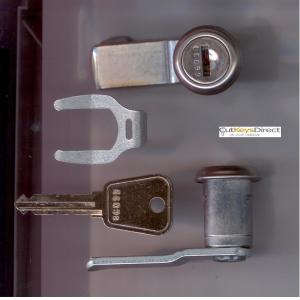 L&F 66/67 series locker lock (L19)
