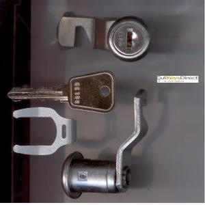 L&F 66/67 series locker lock (L20)