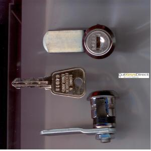 L&F 64 series locker lock (L21)