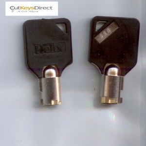 Pair of Tubular Helix 001 - 100 Replacement Keys