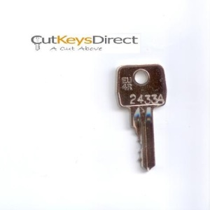 Eurolocks 458A - 5124A Replacement Keys